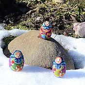 Подарки к праздникам ручной работы. Ярмарка Мастеров - ручная работа Пасхальное яйцо,,Матрешка``. Handmade.