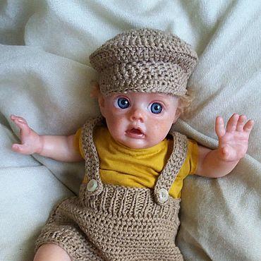 Куклы и игрушки ручной работы. Ярмарка Мастеров - ручная работа Куклы: Реалистичная кукла младенец реборн рыжий мальчишка Эльф. Handmade.