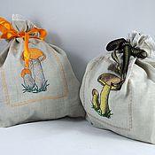 Для дома и интерьера handmade. Livemaster - original item MY MUSHROOMS to store mushrooms an original gift. Handmade.