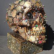 Дизайн ручной работы. Ярмарка Мастеров - ручная работа Avaritia(стилизованный череп). Handmade.