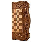 """Куклы и игрушки handmade. Livemaster - original item Copy of backgammon """"Three bears in the woods"""". Handmade."""