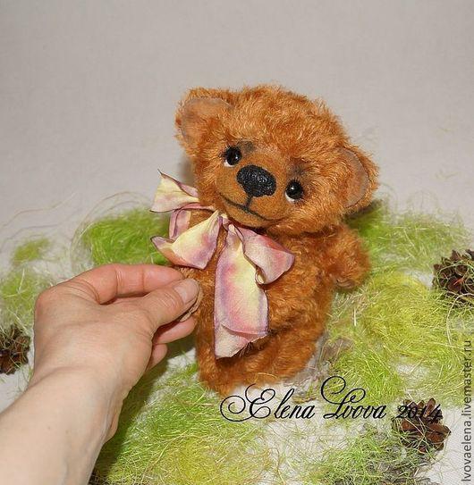 Мишки Тедди ручной работы. Ярмарка Мастеров - ручная работа. Купить Нежный,Рыжий, Влюбленный. Handmade. Рыжий, коллекционные медведи
