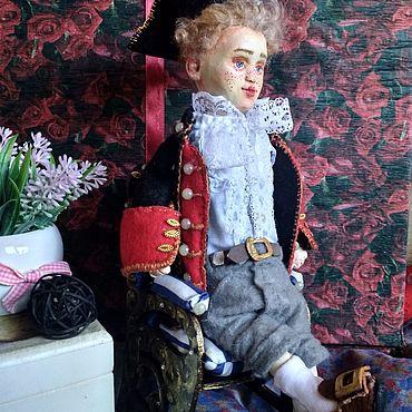 """Куклы и игрушки ручной работы. Ярмарка Мастеров - ручная работа Кукла: """"Бездельник Алексей"""". Handmade."""