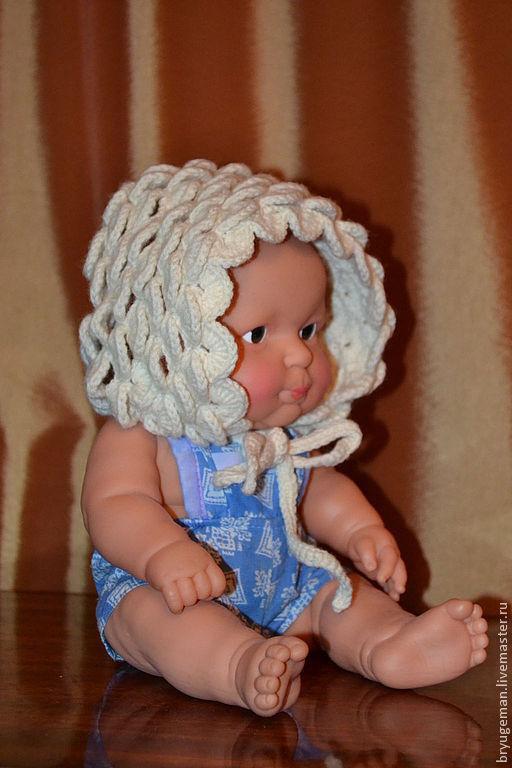 Для новорожденных, ручной работы. Ярмарка Мастеров - ручная работа. Купить шапочка  для новорожденного. Handmade. Чепчик, шапка вязаная