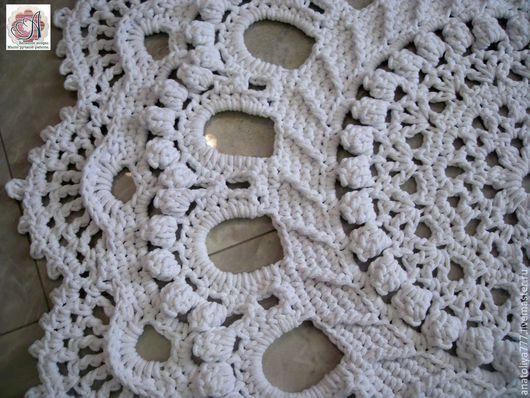 Текстиль, ковры ручной работы. Ярмарка Мастеров - ручная работа. Купить Ковер ручной работы из хлопка Элитный-2. Handmade.