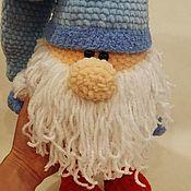 Мягкие игрушки ручной работы. Ярмарка Мастеров - ручная работа Мягкие игрушки: новогодний гном. Handmade.