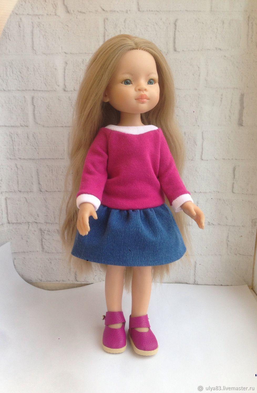 Комплект одежды + обувь для Паола Рейна, Одежда для кукол, Москва,  Фото №1
