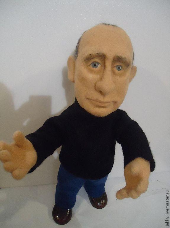 Портретные куклы ручной работы. Ярмарка Мастеров - ручная работа. Купить Портретная кукла на заказ по фото - Важный Политик. Продана. Handmade.