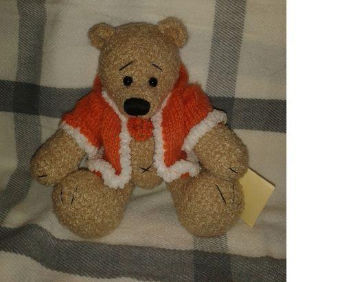 Мишки Тедди ручной работы. Ярмарка Мастеров - ручная работа. Купить Игрушка интерьерная Мишка. Handmade. Рыжий, мишка-тедди