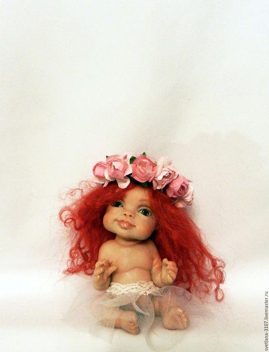 Коллекционные куклы ручной работы. Ярмарка Мастеров - ручная работа. Купить Феечка. Handmade. Комбинированный, авторская кукла, милый подарок