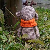 Куклы и игрушки handmade. Livemaster - original item Deer with Snood. Handmade.
