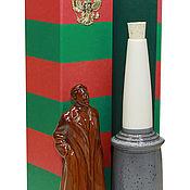 Посуда handmade. Livemaster - original item Felix Edmundovich Dzerzhinsky. Border pillar. Handmade.