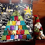 Подарки к праздникам handmade. Livemaster - original item The advent calendar