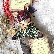 Куклы и игрушки ручной работы. Ярмарка Мастеров - ручная работа Лисенок - выкройка pdf. Handmade.