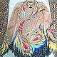 Спортивная одежда ручной работы. Ярмарка Мастеров - ручная работа. Купить Гимнастический купальник. Handmade. Желтый, италия сетка