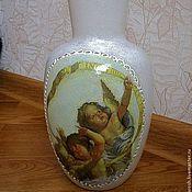 Для дома и интерьера ручной работы. Ярмарка Мастеров - ручная работа Ваза Ангелы. Handmade.
