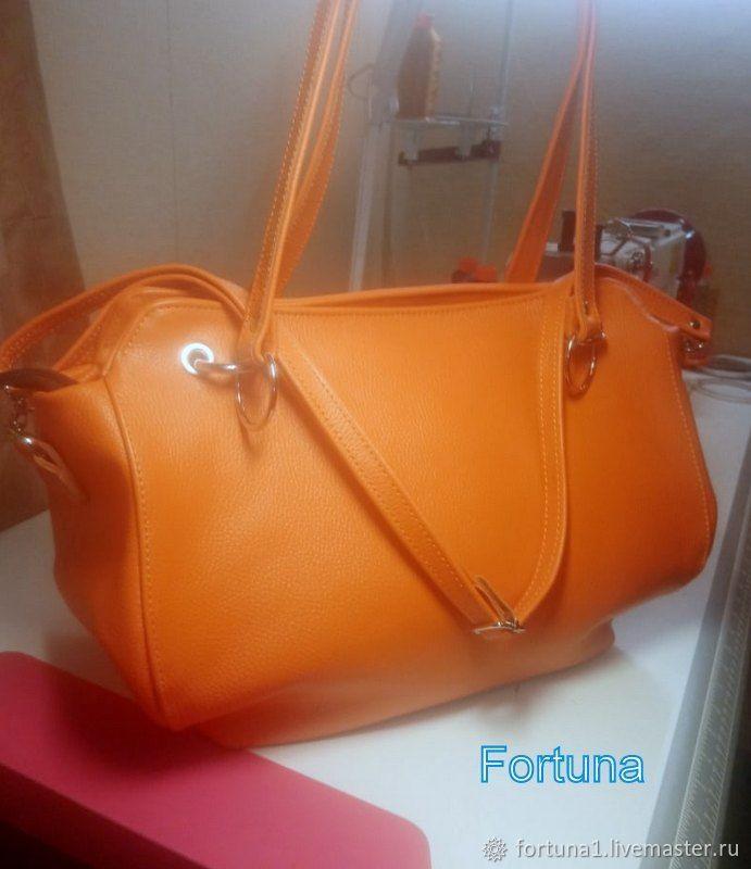 Women's bag ' Orange', Classic Bag, St. Petersburg,  Фото №1