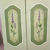 Для дома и интерьера ручной работы. Ярмарка Мастеров - ручная работа роспись кухонных фасадов. Handmade.