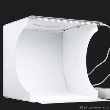 Дизайн и реклама ручной работы. Ярмарка Мастеров - ручная работа Портативный фото-бокс с подсветкой. Handmade.