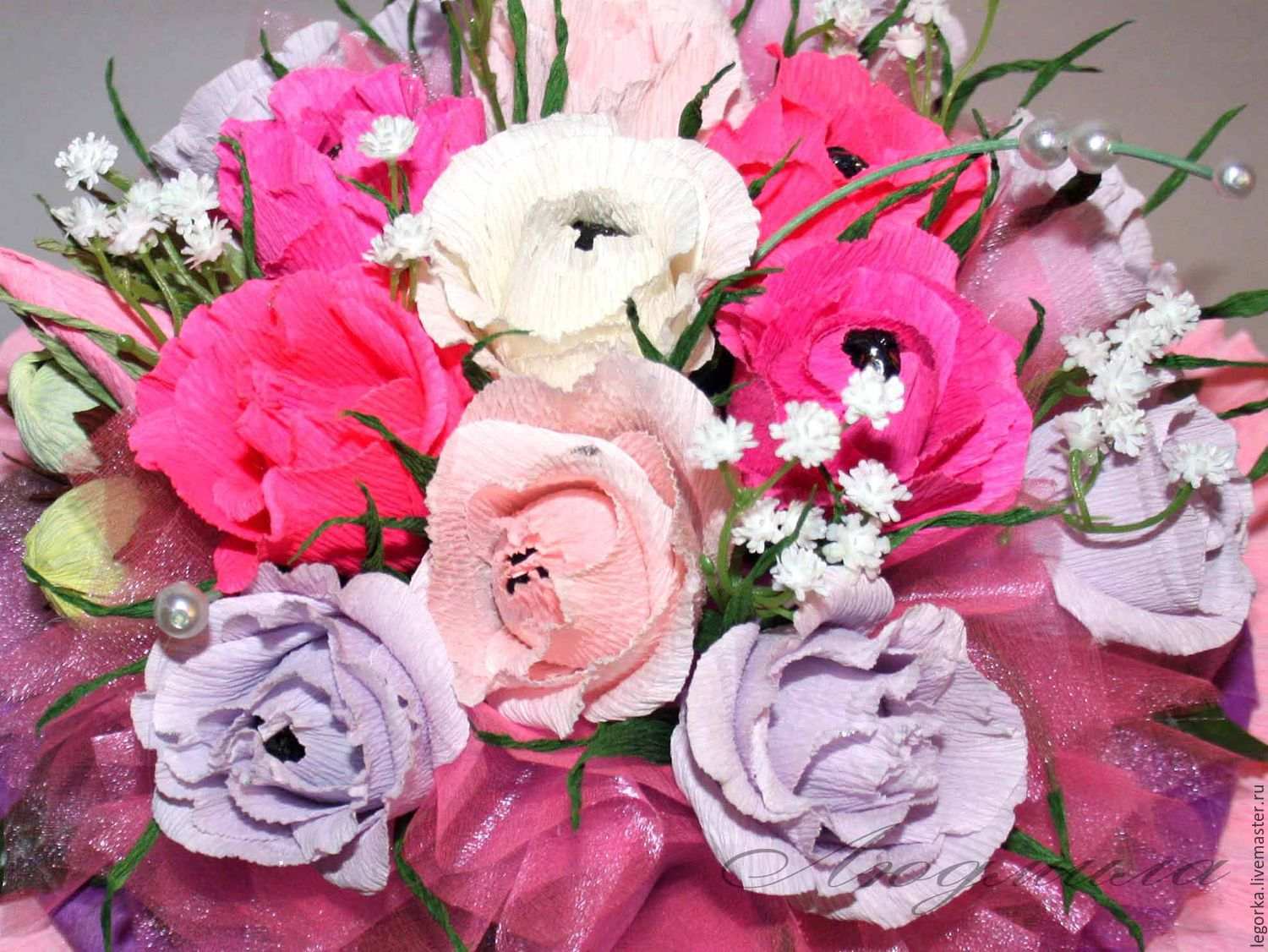 A bouquet of flowers `Spring romance`
