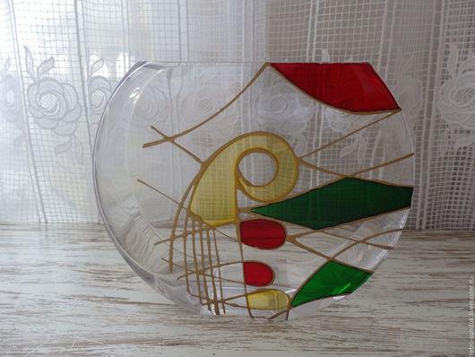 Винтажные предметы интерьера. Ярмарка Мастеров - ручная работа. Купить Ваза для цветов из Венеции, 80-е годы (БХ-549). Handmade.
