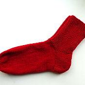 Аксессуары ручной работы. Ярмарка Мастеров - ручная работа носки вязанные (носочки женские). Handmade.