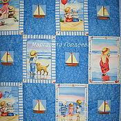 """Для дома и интерьера ручной работы. Ярмарка Мастеров - ручная работа Детское одеяло """"Sailing away"""". Handmade."""
