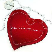 Подарки к праздникам handmade. Livemaster - original item Heart - a plate of glass. gift your loved one. Handmade.