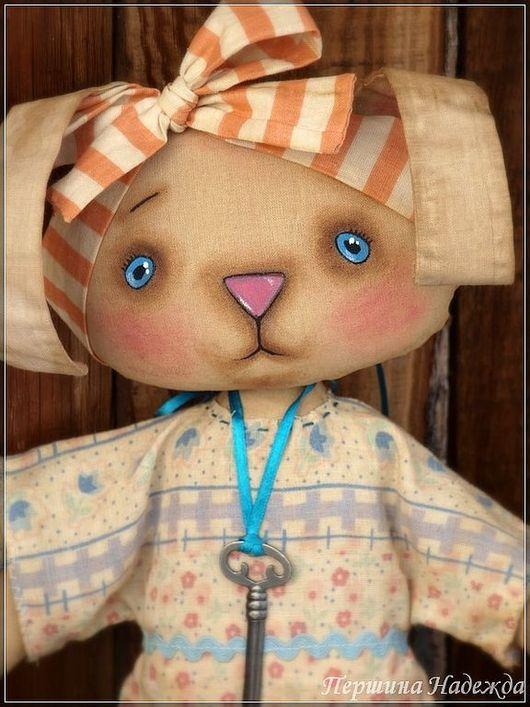 Ароматизированные куклы ручной работы. Ярмарка Мастеров - ручная работа. Купить Зайка моя!. Handmade. Зайка, игрушка, хлопок, корица