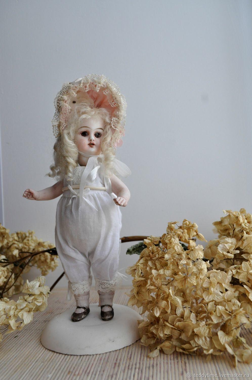 Авторские работы Марии Морозовой. Реплика.Антикварная головка. Кукла в антикварном стиле. Ретро.