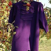 """Одежда ручной работы. Ярмарка Мастеров - ручная работа Акция! Бесплатная доставка!Кашемировое женское пальто""""Лаванда"""". Handmade."""