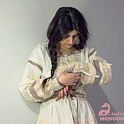 Одежда ручной работы. Ярмарка Мастеров - ручная работа Льняное платье летнее. Handmade.