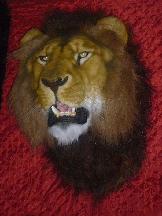 Подарки для мужчин, ручной работы. Ярмарка Мастеров - ручная работа. Купить Черногривый лев. Handmade. Корпоративный подарок, экзотический подарок