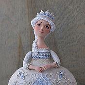 """Куклы и игрушки ручной работы. Ярмарка Мастеров - ручная работа Кукла-шкатулка """"Морозное утро"""". Handmade."""