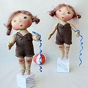 Куклы и игрушки ручной работы. Ярмарка Мастеров - ручная работа Не понимаю, зачем мне гимнастика, я ведь и так красавица.... Handmade.