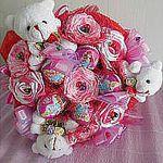 Букеты из конфет (StenkinaTS) - Ярмарка Мастеров - ручная работа, handmade