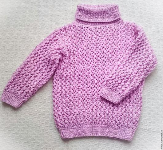 Одежда для девочек, ручной работы. Ярмарка Мастеров - ручная работа. Купить Свитер ажурный для девочки. Handmade. Ажурный узор