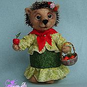 Куклы и игрушки ручной работы. Ярмарка Мастеров - ручная работа Ёжичка Аксинья. Handmade.
