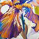 """Картины цветов ручной работы. Картина с ирисами """"Дуновение Ароматного Ветра"""" (холст, масло). ЯРКИЕ КАРТИНЫ Наталии Ширяевой. Ярмарка Мастеров."""