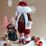 Куклы и игрушки ручной работы. Ярмарка Мастеров - ручная работа Санта Клаус. Handmade.