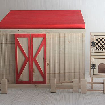 Куклы и игрушки ручной работы. Ярмарка Мастеров - ручная работа Ферма. Handmade.