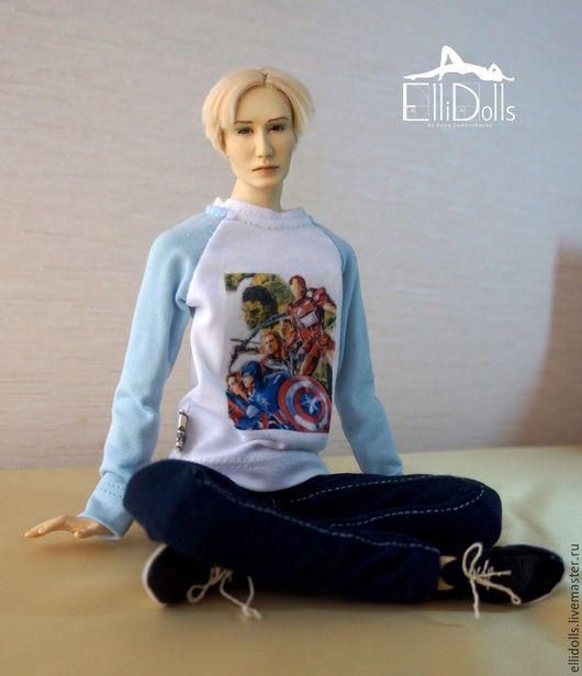 Коллекционные куклы ручной работы. Ярмарка Мастеров - ручная работа. Купить Дэниэл. Авторская шарнирная кукла.. Handmade. Слоновая кость