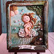 Подарки к праздникам ручной работы. Ярмарка Мастеров - ручная работа Венера в канапушках. Handmade.