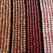 Бусины ручной работы. Ярмарка Мастеров - ручная работа Бусина 4х3 мм Пенек (13)(4 цвета), коралл. Handmade.