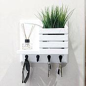 Для дома и интерьера handmade. Livemaster - original item Wall-mounted key holders: for keys in the hallway. Handmade.