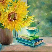 Картины и панно handmade. Livemaster - original item Oil painting Sunflowers. Handmade.