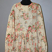 Одежда handmade. Livemaster - original item dress female cotton. Handmade.