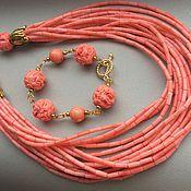 Украшения handmade. Livemaster - original item necklace bracelet coral coral kingdom. Handmade.