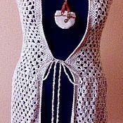 """Одежда ручной работы. Ярмарка Мастеров - ручная работа Жилет """"Льняной"""". Handmade."""
