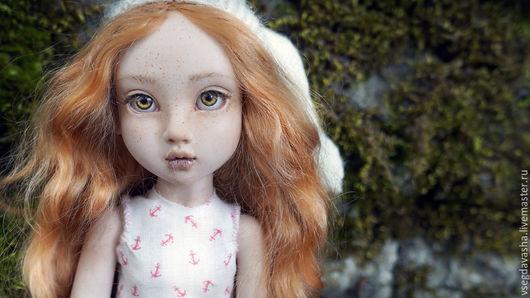 Коллекционные куклы ручной работы. Ярмарка Мастеров - ручная работа. Купить Ева. Handmade. Рыжий, шарнирка, авторская кукла